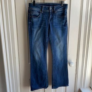 G-Star Raw Midge Saddle Mid Bootleg Jeans